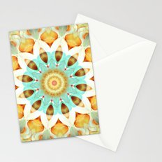 Mandala soft touch Stationery Cards