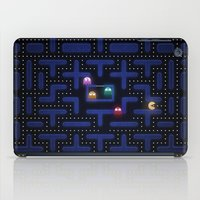 pacman iPad Cases featuring Pacman by Foxxya