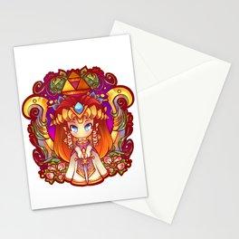 Princess Zelda Badge Stationery Cards