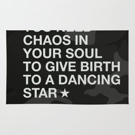 You Need Chaos In Your Soul Rug