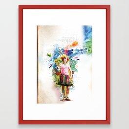 Take-Me-Up Framed Art Print