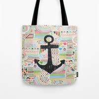 anchor Tote Bags featuring Anchor by Berreca