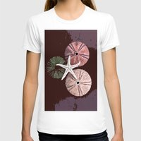 seashell T-shirts featuring seashell 6 by gzm_guvenc