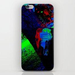 Glitch Skull iPhone Skin