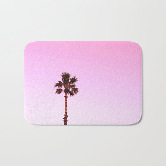 Stand out - twilight pink Bath Mat