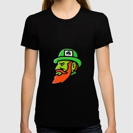 Leprechaun Head Mascot T-shirt