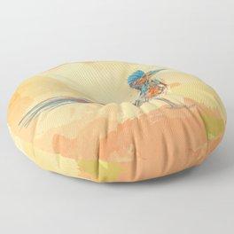 Little Road Runner Floor Pillow