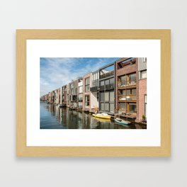 Zeeburg Framed Art Print