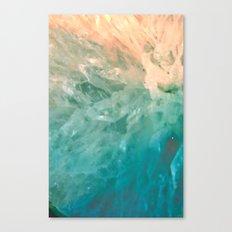 Solar Crystals Canvas Print
