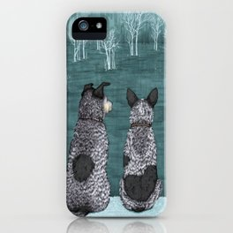The Lookouts (Cattle Dogs) iPhone Case