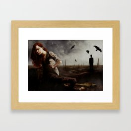 Ultima Forsan Framed Art Print