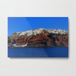 Santorini 22 Metal Print
