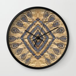 Trace of Beauty (square format) Wall Clock