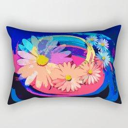 Flowers pop art Rectangular Pillow