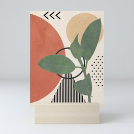 Nature Geometry III Mini Art Print