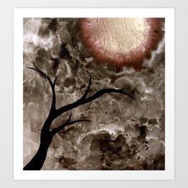 Beneath. Art Print