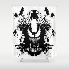 Never wound what you can't kill Shower Curtain