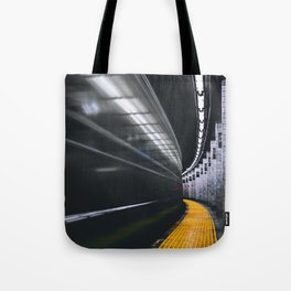 The Subway (Color) Tote Bag