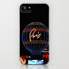 Paris in Las Vega iPhone Case