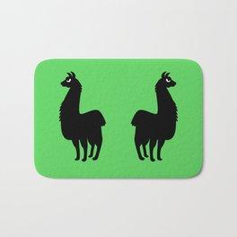 Angry Animals: llama Bath Mat