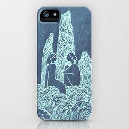 friends blue iPhone Case