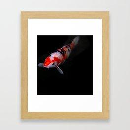 koi fish Kyoto Japan Framed Art Print