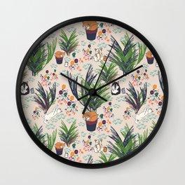 Brushwood Dogs Wall Clock
