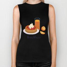 Breakfast - Pancakes Biker Tank