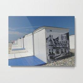 plage du Havre Metal Print