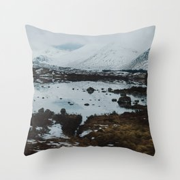 Glencoe, Scotland Throw Pillow