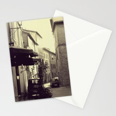 not abandoned town... Stationery Cards