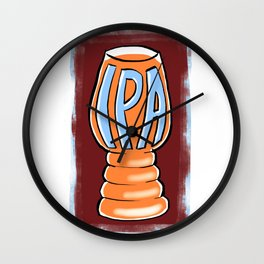 India Pale Ale Wall Clock