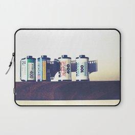 film cartridges old school (film photograph) Laptop Sleeve
