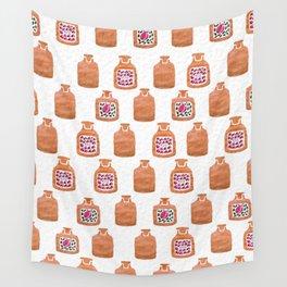 ROSE PERFUME BOTTLES Wall Tapestry