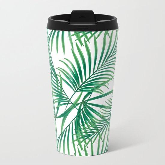 Tropical pattern.2 Metal Travel Mug