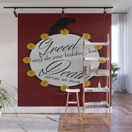 Greedy Wall Mural
