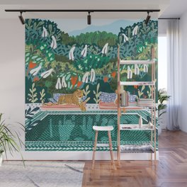 Chilling || #illustration #painting Wall Mural