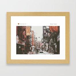 Pantone: New York Framed Art Print