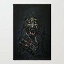 Boogie Horror: Mirror Mask Canvas Print