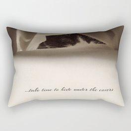 Take time Rectangular Pillow