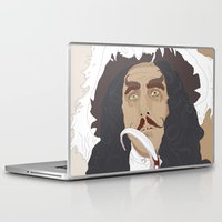 captain hook Laptop & iPad Skins featuring HOOK by Itxaso Beistegui Illustrations