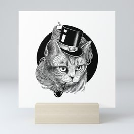 THE CAT AND THE HAT Mini Art Print