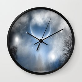 Celestial Dreams Wall Clock