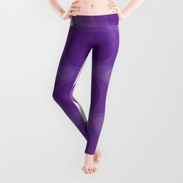 Violet Echoes Leggings