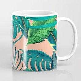 Summer Tropical Leaves Coffee Mug