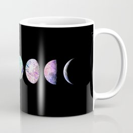 Peacock Opal Moon Cycle Coffee Mug