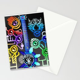 Fusion Keyblade Guitar #54 - Fenrir & Photon Debugger Stationery Cards