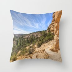 Gila View Throw Pillow