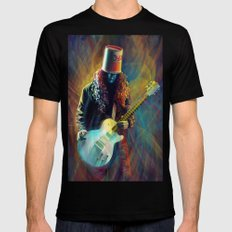 Buckethead LARGE Black Mens Fitted Tee