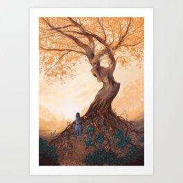 The Guardian of the Golden Grove Art Print